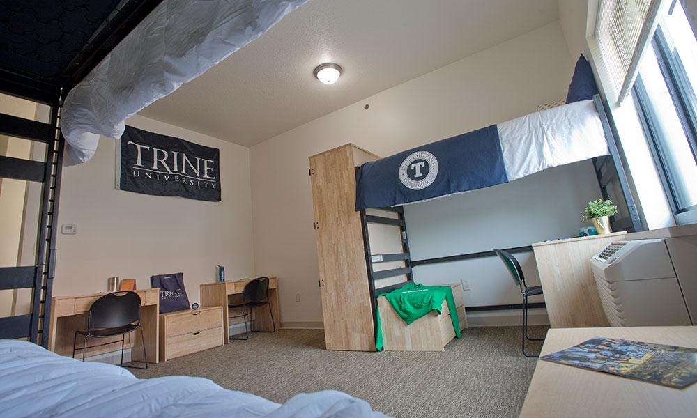 Larry And Judy Reiners Residence Hall And Stadium Hall