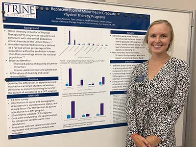 """""""Representation of Minorities in Graduate Physical Therapy Programs: A Pilot Study"""""""