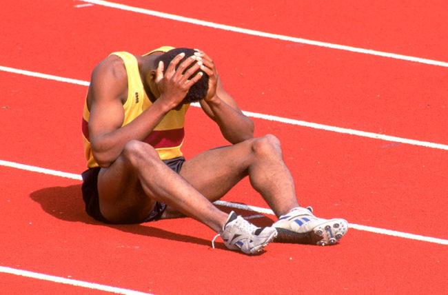 Athletic injury (Courtesy of Cleveland Clinic)