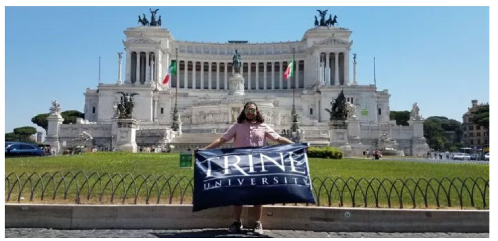 Bauzo in Rome showing Thunder Pride
