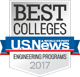 US News and World Report Best Colleges Engineering Programs