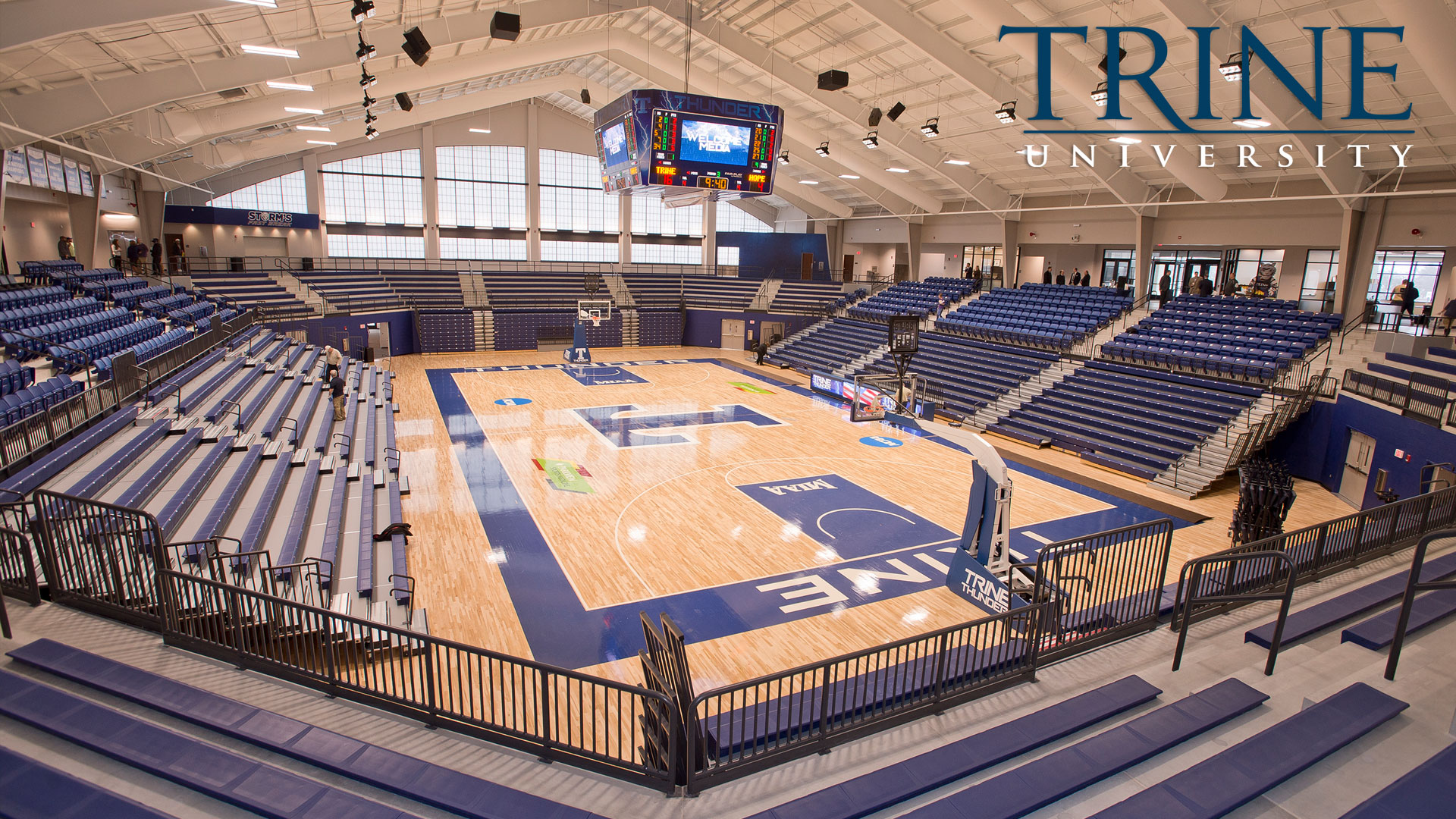 A look inside MTI Basketball Arena
