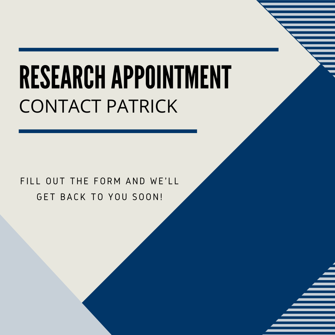 Contact Patrick for an Appointment