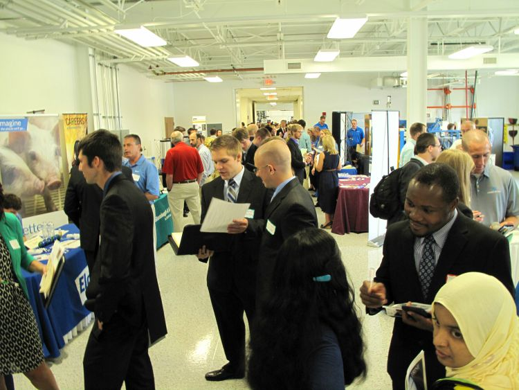 group fall career fair 2015