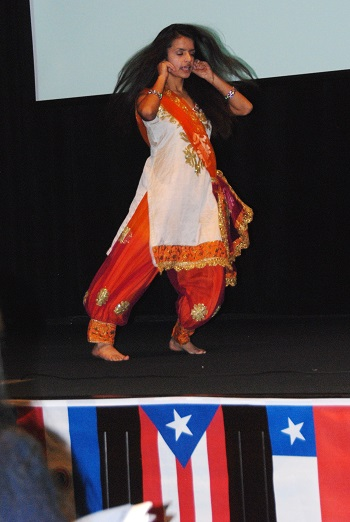 Vidhi Sharma dances
