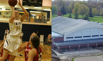 Trine Basketball starts New Year in a new home