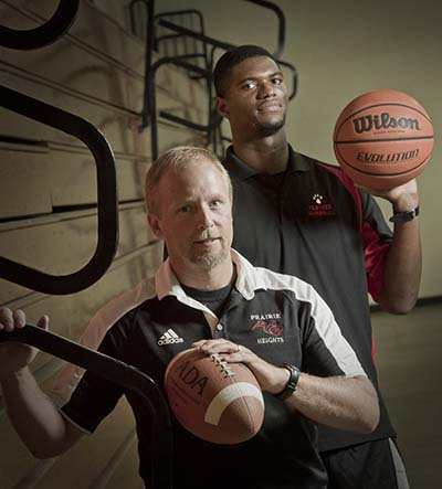 Trine alumni leading Prairie Heights athletics, basketball