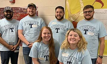 Trine University's NASA Rover Human Exploration Challenge team has provided STEM activities to more than 200 local elementary school students.