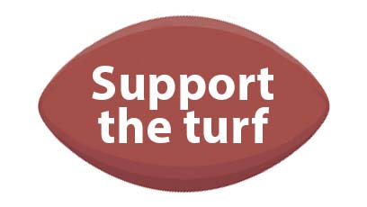 Support the turf