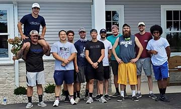 The Steuben County Council on Aging (COA) moved into its new location at 1905 Wohlert Street in Angola on Saturday, Aug. 22. Members from the Tau Kappa Epsilon and Phi Kappa Theta fraternities assisted with the effort.