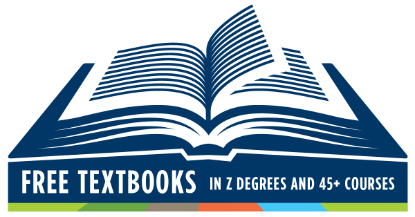 Free textbooks for Z degrees and more than 45 courses